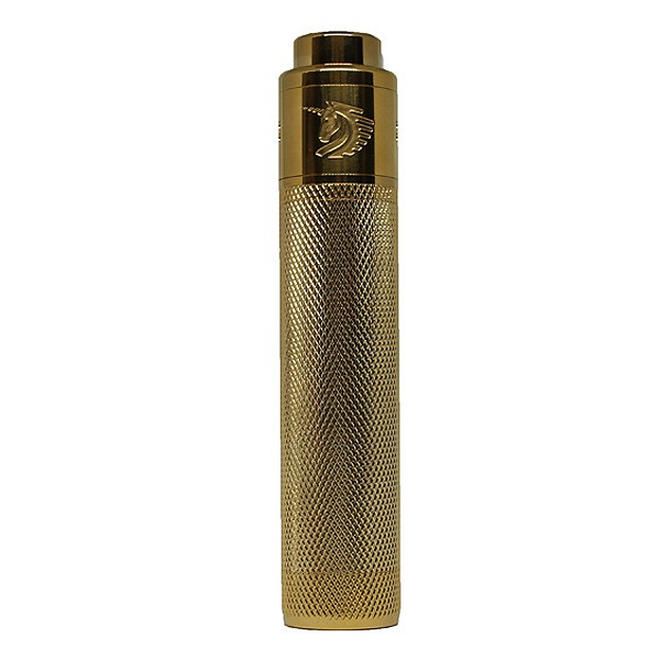 Gold Knurled 18650 Kit